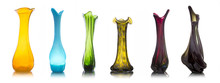 Collection Of Colorful Glass V...