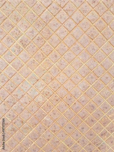 Fotografia, Obraz  Textura metálica alcantarilla