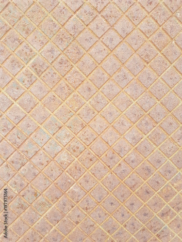 Valokuva  Textura metálica alcantarilla