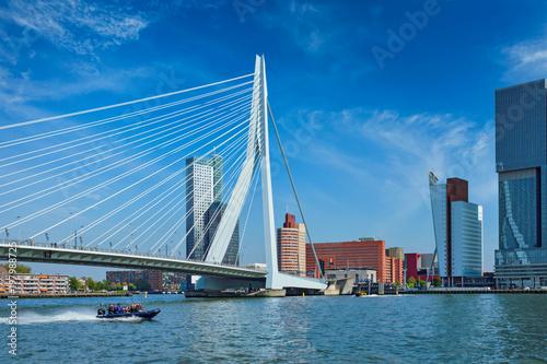 Foto auf AluDibond Rotterdam Rotterdam cityscape