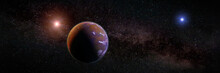 Beautiful Exoplanet, Part Of A...