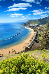 Teresitas beach ,Tenerife,Canary Islands