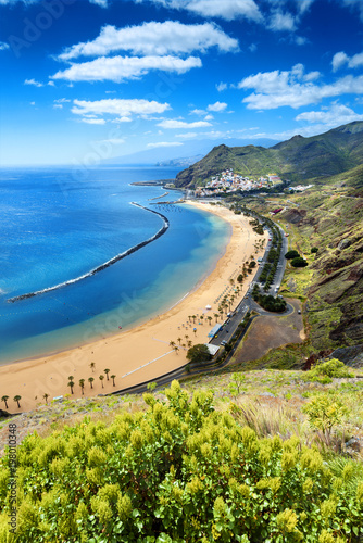Fotografia Teresitas beach ,Tenerife,Canary Islands