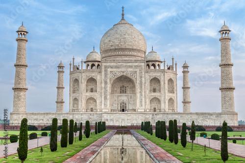 Papiers peints Con. ancienne Famous Taj Mahal, India