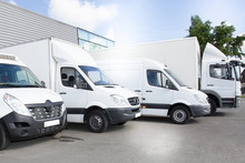 Commercial Delivery Vans Park ...