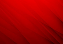 Abstract Red Vector Background...