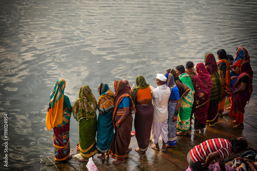 Fényképezés  Abluzione sul Gange