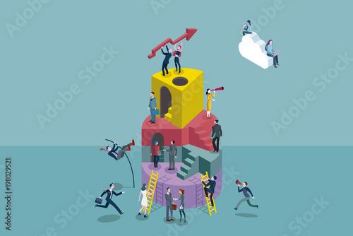 Fotografía  Collaborative Company Concept