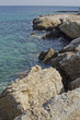 Greece, Ionian coast, rocky shore