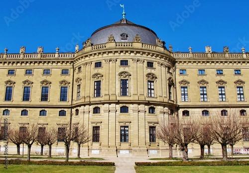 Foto  Würzburg, Residenz, Südfassade