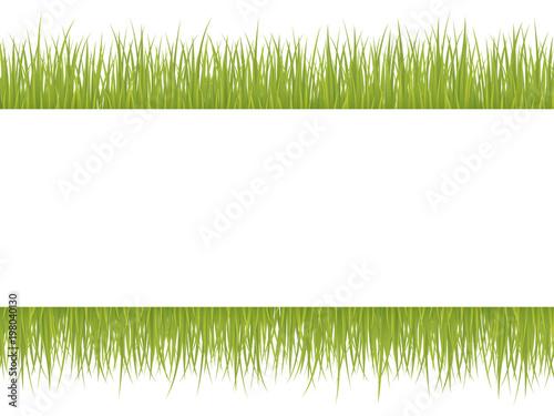 草のフレーム素材 Fototapet