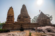 View of Lakshmana Temple in Khajuraho, India