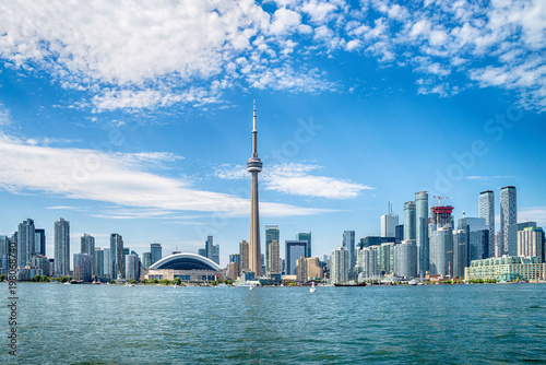 Fototapeta Skyline of Toronto in Canada
