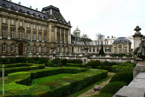 Historische Gebäude im Zentrum von Brüssel