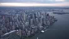 New York City Wide Angle Aeria...