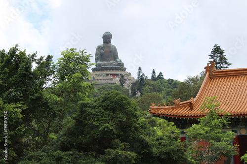 Fototapeta  big buddha lantau china