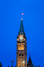 View Of Peace Tower And Centen...