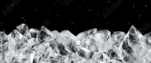 canvas print motiv - Okea : ice blocks