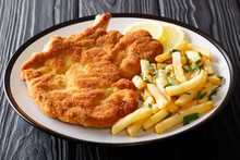 Fried Veal Cutlet Milanese Wit...