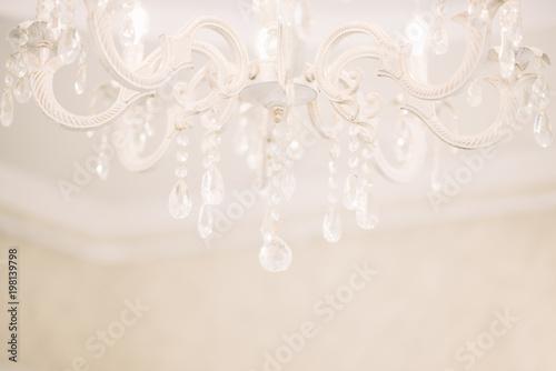 Foto Chrystal chandelier close-up