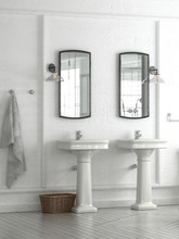 Double Vanities Or Hand Basins...