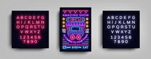 Circus Poster Design Template ...