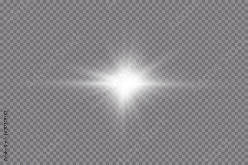 Foto  Glow light effect