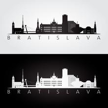 Bratislava Skyline And Landmar...