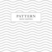 Waves Geometric Seamless Pattern