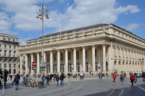 Papiers peints Opera, Theatre Place de la Comedie in the French city Bordeaux