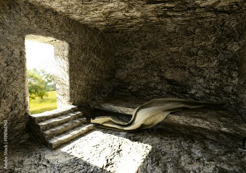 Foto Túmulo Vazio - Ressurreição De Jesus Cristo
