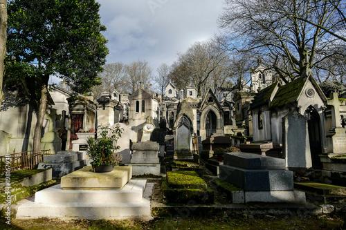 Recess Fitting Cemetery Photo image a Beautiful panoramic view of Paris Metropolitan City