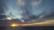 Ocean and Beach Sunset Scenes Encinitas California