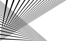 Black Straight Lines Abstract Background