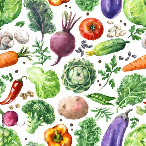 akwarela-warzywa-wzor
