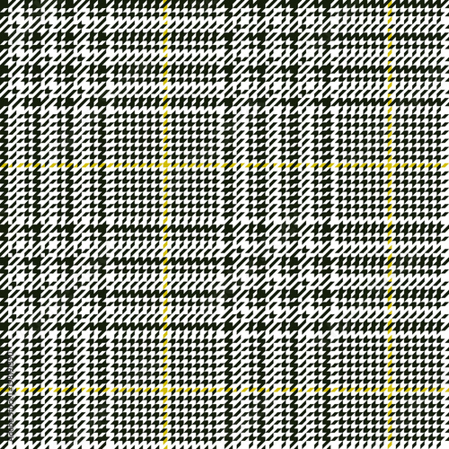 Photo  Scottish glen plaid pattern