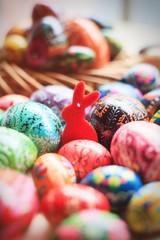 Fototapeta na wymiar Easter_święta_wielkanoc_bunny_królik_eggs_holliday