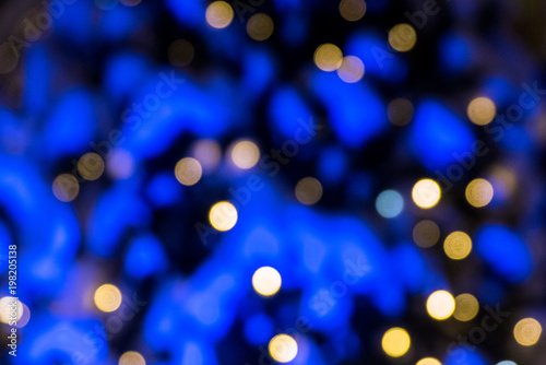 Photo Stands Eggplant abstract background with bokeh defocused lights