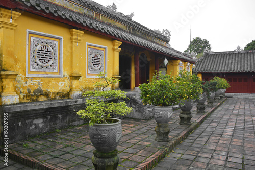 Tuinposter China The Truong Sanh Residence in the Imperial City, Hue, Vietnam