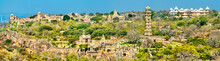 Panorama Of Chittor Fort, A UN...