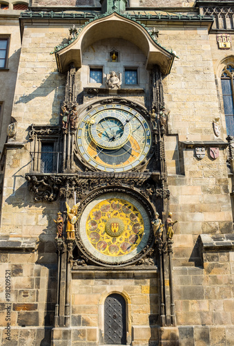 Photo  Astronomical Clock Tower in Prague Czech Republic