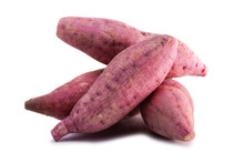 Isolated Sweet Potato