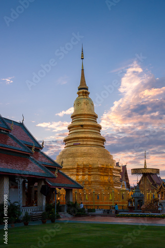 Wat Phra That Hariphunchai , Lamphun , Thailand