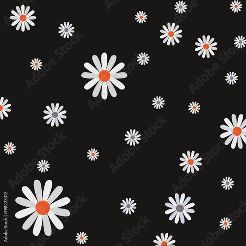Fototapeta z tłem w kwiaty