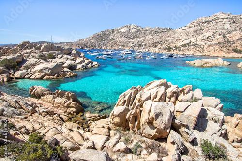 Photo  Spiaggia di Cala Coticcio, Sardegna, Italy
