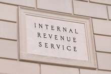 Internal Revenue Serice Sign