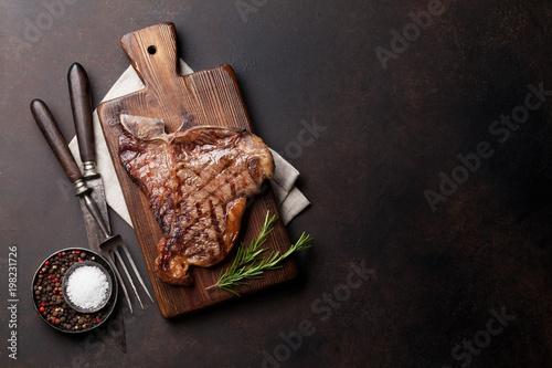 Fotografia  T-bone steak