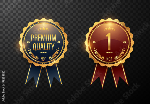 2 Premium Quality Award Badge Layouts Buy This Stock Template And
