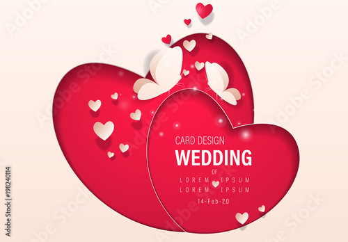red heart wedding banner layout buy this stock template and explore similar templates at adobe stock adobe stock red heart wedding banner layout buy