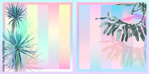 tropical sweet pastel gradient background A